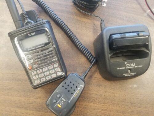 Icom Ic-t90a Multiband FM Handheld Tranceiver