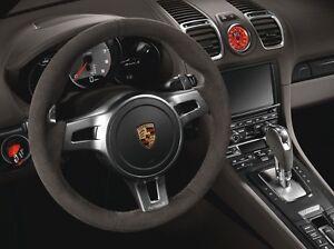 Porsche Alcantara PDK Paddle Steering Wheel - 991 Carrera GTS Turbo GT3 Targa