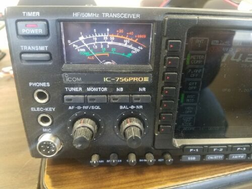 Icom IC-756 PRO III HF/50MHZ Transceiver