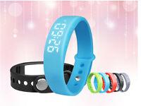 Wholesale W5 USB Multi-Functional Smart Wrist Band Bracelet Watch Alarm Pedometer