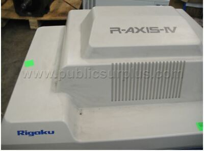 Rigaku R-axis Iv X-ray Protein Crystallography Diffractometer