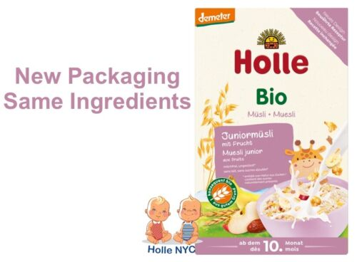 Holle Organic Junior Muesli Multigrain Porridge with Fruit 250g Free Shipping