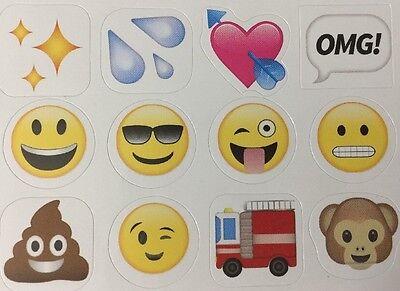 EMOJI Stickers(104pc)5-3/4
