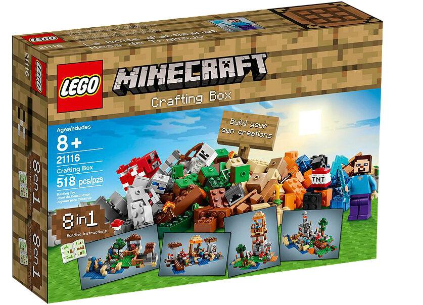 Lego Minecraft Crafting Box 21116 Ebay
