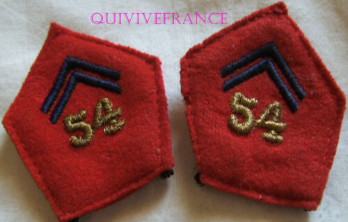 IN9423 - Badges Fabric Of Col Officer 54° Regiment D'Artillery
