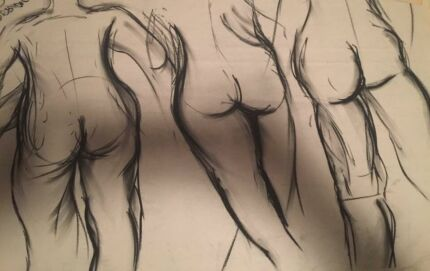 Frightfully Arty - life drawing & art classes  Bulimba Brisbane South East Preview