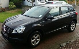 Nissan Qashqai, Black, MOT until November 2017