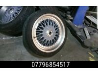 18 inch Bmw Konig BBS RS Alloy Wheels & Tyres - e36 e46 e60 330 M6 bmw alloys m3 mv3 325 1 series