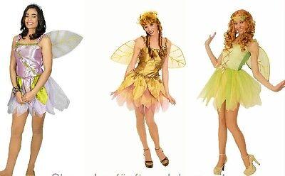 Fee Elfe Schmetterling Damen Kostüm Kleid Feenkostüm Elfenkostüm - Fee Kostüm