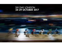 Six Day London - Cycling event - Retail/concession work (24th-30th October)