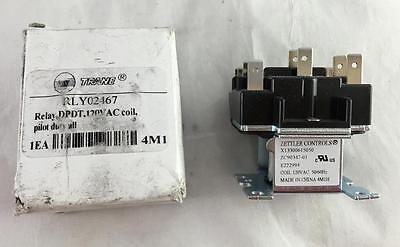 New Trane Rly02467 Relay Dpdt 120v Ac Coil X13300615050 Zettler