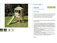 Forest Lodge 2 - Child's Playhouse Wooden Tower