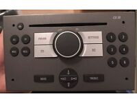 Vauxhall Astra car stereo/cd