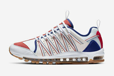 Nike Air Max 97 x Zoom Haven x CLOT USA ROYAL RED WHITE BLUE OLYMPIC AO2134-101