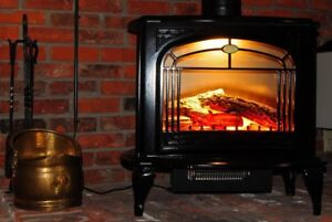 Electric stove /fireplace portable