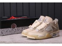 Nike Air Jordan 4 x Off-White Sail UK 8.5 - EU 43