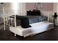 New Day Beds in Cream White or Black from £89 IN STOCK NOW get yours today!