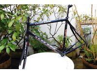 LOOK 585 road racing bike carbon frame frameset L Large 55cm Time Colnago
