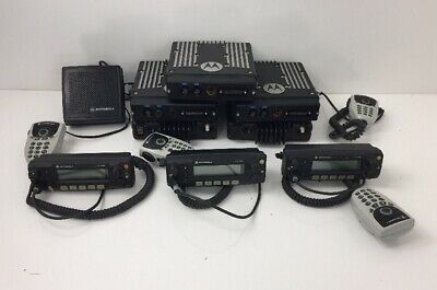 Lot Of Motorola Xtl2500 Digital Radio Equipment Power Supply