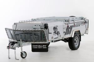 BRAND NEW CHIVALRY CAMPER OFF ROAD REAR FOLD