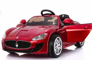 12v Licensed Maserati GranTurismo Kids Electric Ride On Car - Red Revesby Bankstown Area Preview