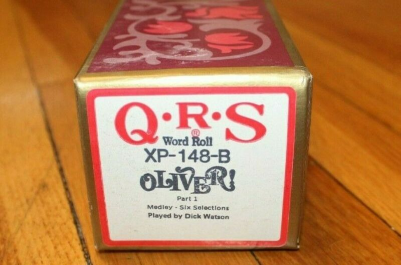 QRS Player Piano Word Roll - Oliver! Musical Medley 6 Selections Part I XP-148-B