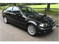 2003 BMW 3 SERIES 318i 2.0 ES BLACK LOW MILEAGE