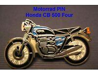 HONDA GL1500 WHITE MOTORCYCLE BIKER LAPEL PIN BADGE 1 INCH