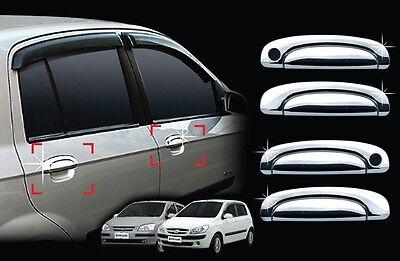 Rear Lamp Garnish 2Pcs 1Set For Hyundai Getz Click 2002-2011