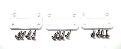 AFTERMARKET Igloo Cooler Plastic Hinges 3-PK and 12 Stainless Screws