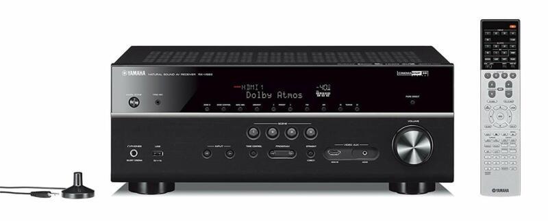Yamaha Rx-V683Bl 7.2-Channel Musiccast Av Receiver With Blue