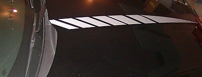 2012 13 14 15 16 Camaro FADED Hood Cowl Stripes Spears decal decals V8 FIT SS RS