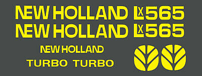 New Holland Lx565 Skid Steer Decal Kit For Your Loader Lx 565 Free Shipping