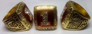1991 Washington Huskies NCAA National Championship REPLICA Ring U-Dog Size 11