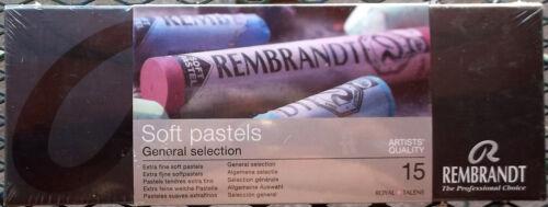 Rembrandt  Soft Artists Pastels Set Of 15 General Selection Unopened