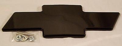 03-07 Chevy Silverado 1500 CBS Front Billet Bowtie Grille Emblem - Black 96183K