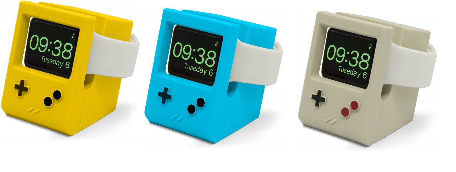 Apple Watch Retro Game Boy Charger Stand Charging Dock for Series 5/4/3/2/1 Cell Phones & Accessories
