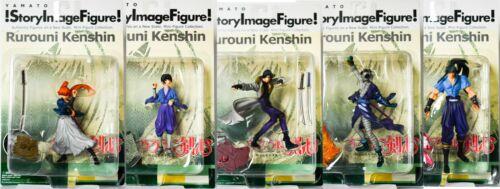 "Anime Rurouni Kenshin aka Samurai X Story Image Figure Set ""Series 2"" Brand New"