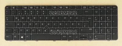 For HP zbook 15u G3 15u G4 Keyboard Backlit Pointer Gray Fra