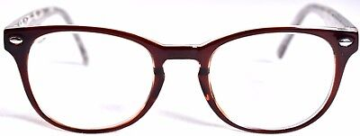 Zenni Optical 125915 Eyeglass Frames Brown Tan 48 15 140  W  Case