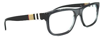 Burberry Damen Herren Brillenfassung  B 2197 3544 Gr 53mm  schwarz P413 T64
