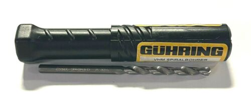 Guhring #27 Solid Carbide Drill Jobber Length 118° Point Bright Finish