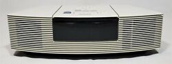 Bose Wave Radio AM/FM CD Player Alarm Clock White Model AWRC-1P