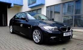 BMW 2.0 318d M Sport 4dr, Rare matte black interior trim