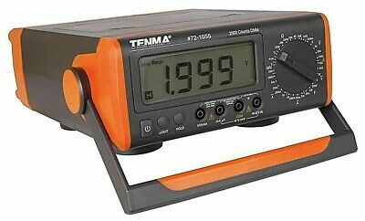 Tenma 72-1055 Benchtop Digital Multimeter With Capacitance New