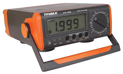 New Tenma Bench-top Digital Multimeter. Lcd Tester.frequency Temperature.ac.dc