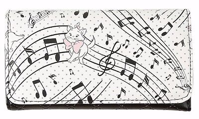 Disney The Aristocats Marie Quilted Flap Wallet Clutch New with Tags