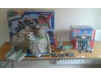 Job lot toys: thunderbirds and stingray