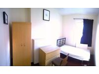 SINGLE ROOM AT EAST HAM (24 HOUR TRANSPORT TO STRATFORD, CANARY WHARF)