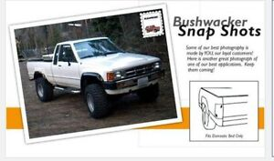 1984 to 88 TOYOTA 2WD-4WD REAR FENDER FLARES WITH DOMESTIC BOX Belleville Belleville Area image 1